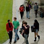Students in quad