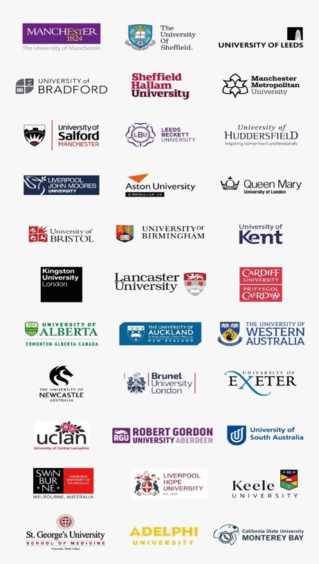 NCUK Partner universities