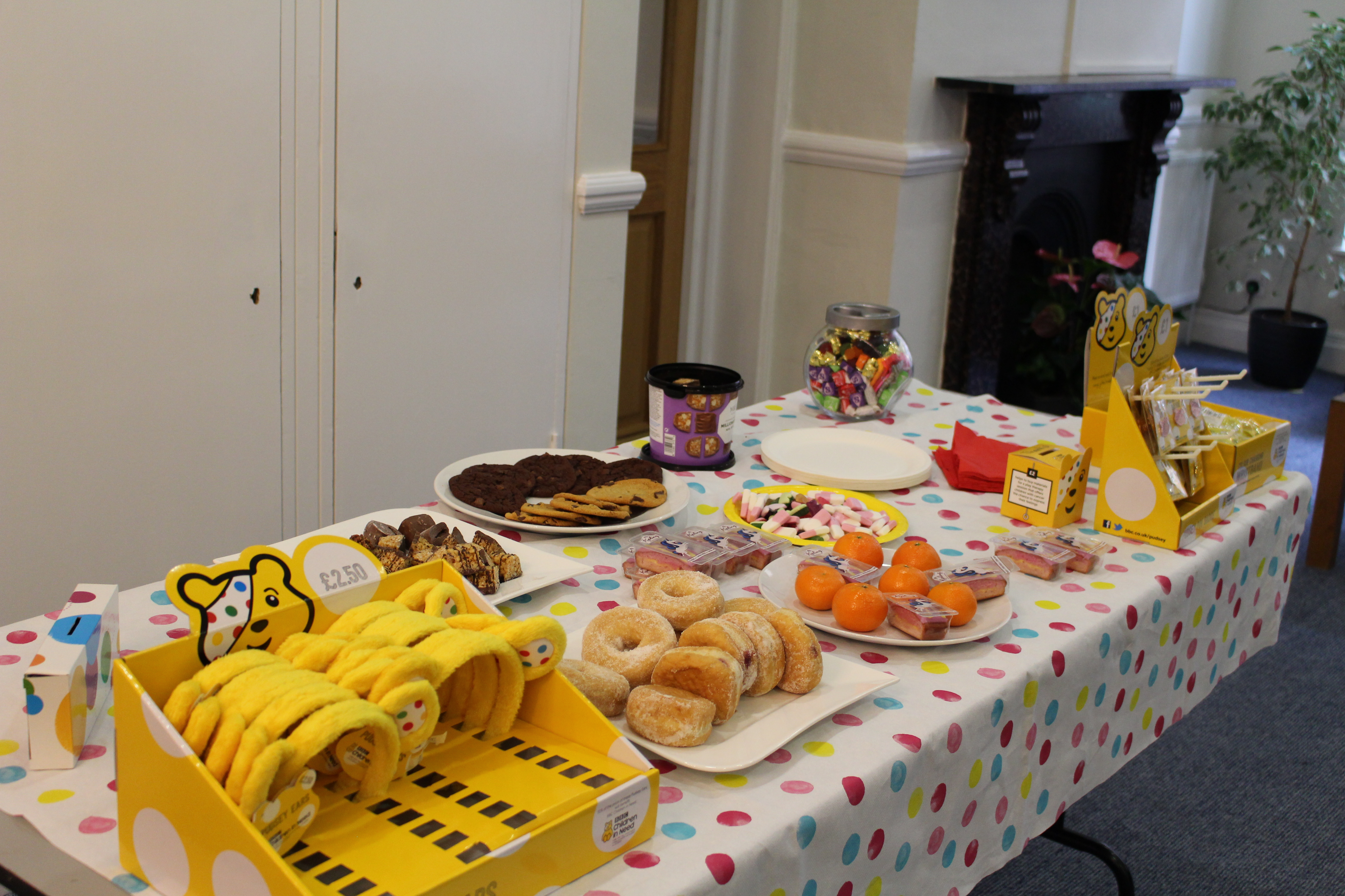 Fun, games and sweet treats for Children in Need | Oxford